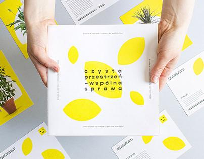 czysta przestrzeń / print materials
