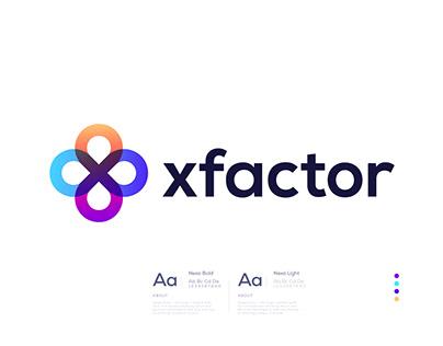 X Modern Business Logo Design for Sale