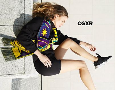 CG x R