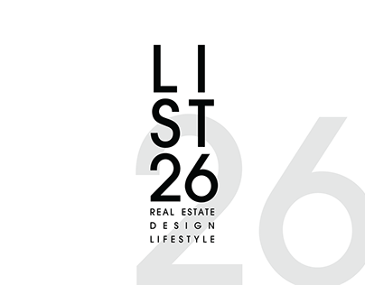 LIST26 Logo and Branding.