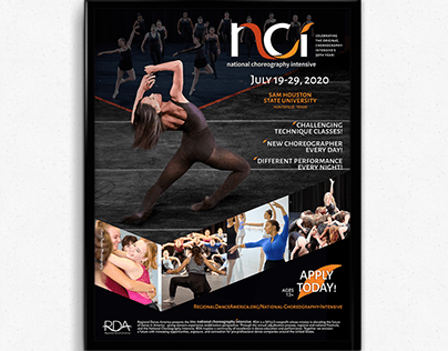 Flyer - National Choreography Intensive