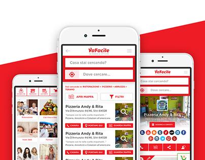 VaFacile.it - User Interface Redesign