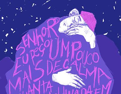"""Poster da música """"Boca"""""""