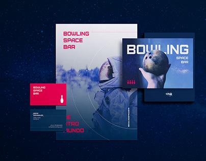 Branding: Bowling Space Bar