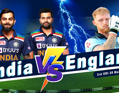 India Vs England Banner