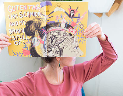 Guten Tag, I am Schmiddl – Illustrade-Katalog 2017