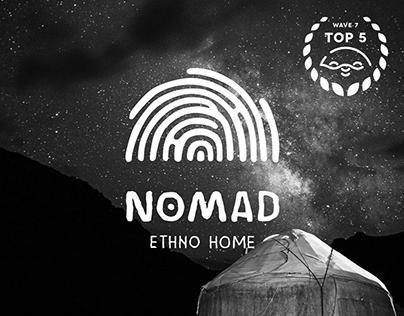 NOMAD Ethno Home Brand Identity