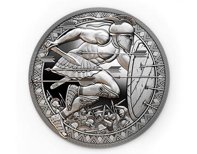 3D coins model SPARTA