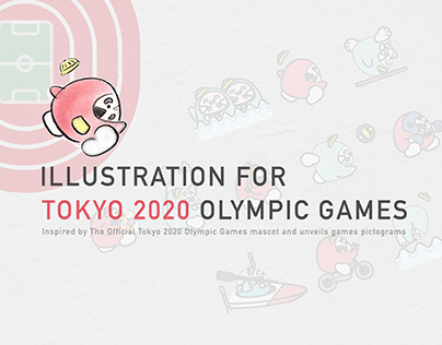 Illustration for Tokyo 2020 Olympic Games [In Progress]