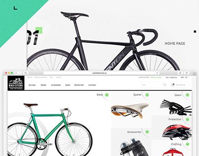 Bike Store - e-commerce website