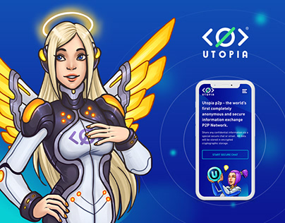 Utopia - landing page