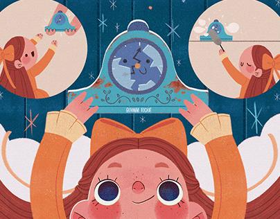 Livro Infantil - ''Se eu fosse um relógio...''