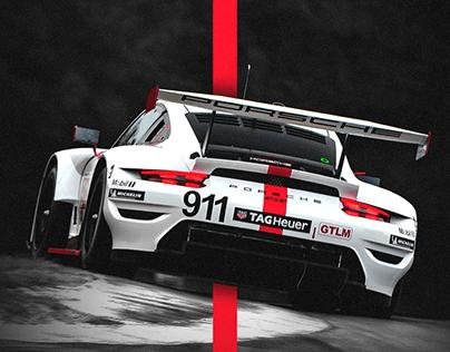 Porsche IMSA GTLM Mobile Wallpaper