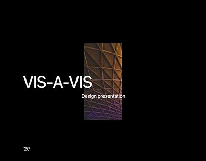 VIS-A-VIS Digital Agency | Concept website redesign
