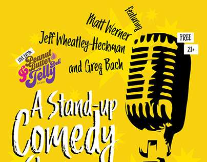 Stand-Up Comedy Showcase Poster