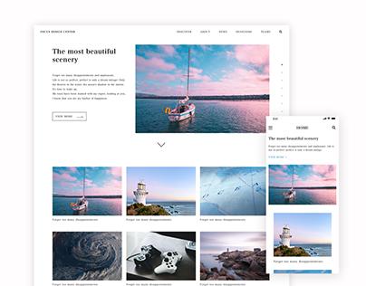 Focus - Website System Design