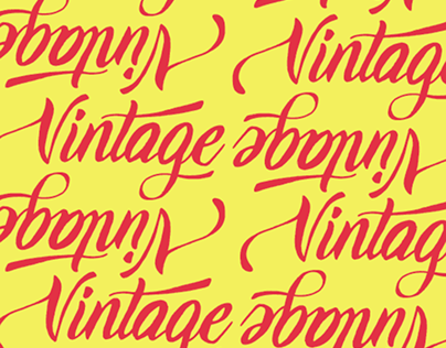 Lettering - vintage