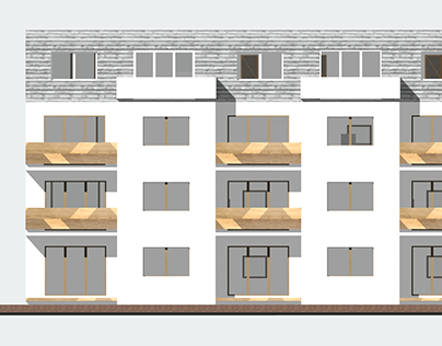 Apartment housing project
