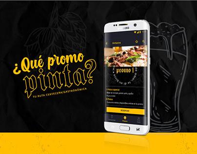 UX/UI Project; ¿Qué Promo Pinta?