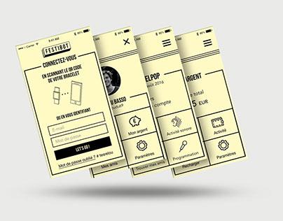 Festibot - UX Design