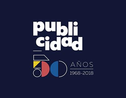 Publicidad 50 años Logo