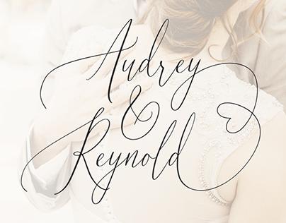 Audrey & Reynold - Luxury Script