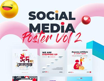 Social Media Poster Vol 2