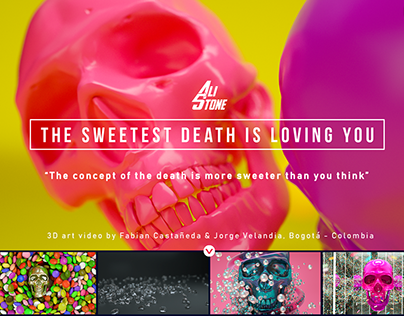 Video 'The Sweetest Death is Loving You' - 3D Work