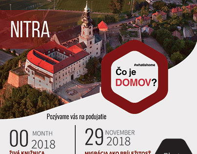 Event Brochure, Charita Slovakia.