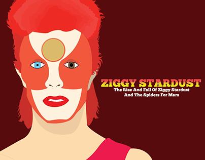 Ziggy Stardust Portrait