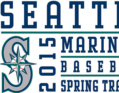 Seattle Mariners Spring Training Cap Logos