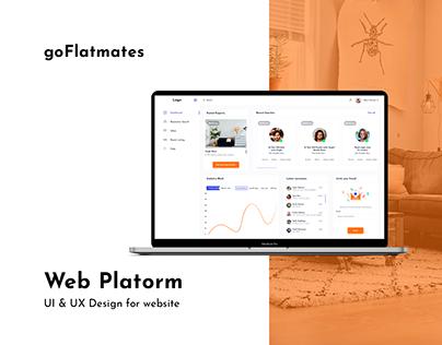 Flatmate matching platform