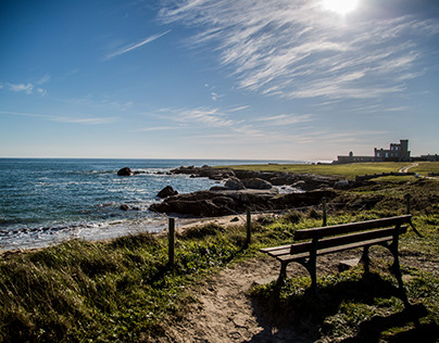 Sceneries of Brittany (France)