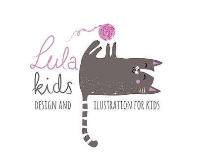 Logo and branding for Lula Kids Design