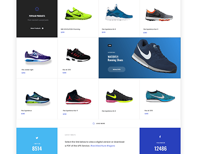 ecommerce website design inspired by themeforest