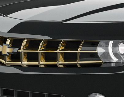 Black & Gold Camaro