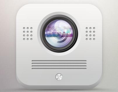 Video intercom app icon