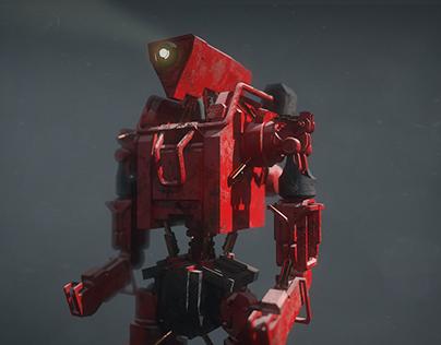 maya concept art robot
