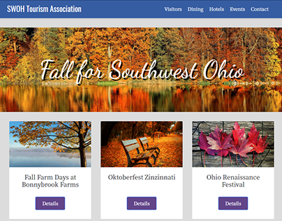 Tourist Attraction - Fall Tourism in Southwest Ohio