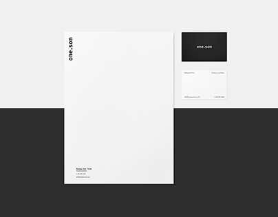 one.son | un petit branding