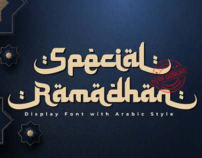 Special Ramadhan | Display Font with Arabic Style