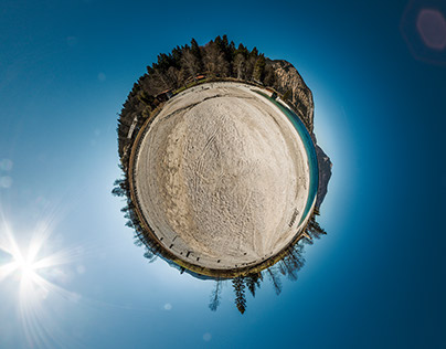 Planet Alpine Lake