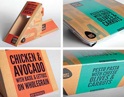 Daily Foods - Student Portfolio Work