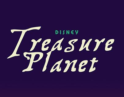 Treasure Planet - Alternative Poster -