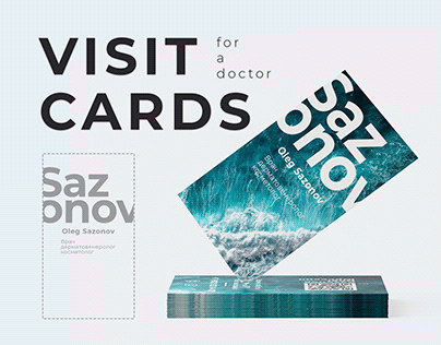 Visit Cards for Sazonov