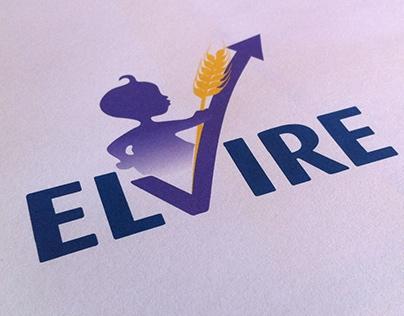 Elvire - Logo Design for Blédina intern comm