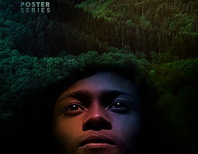Poster Series┃ Black Portrait