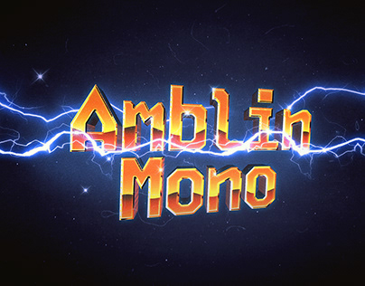 Amblin Mono Extrabold