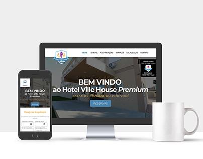 Hotel Ville House Premium - Website