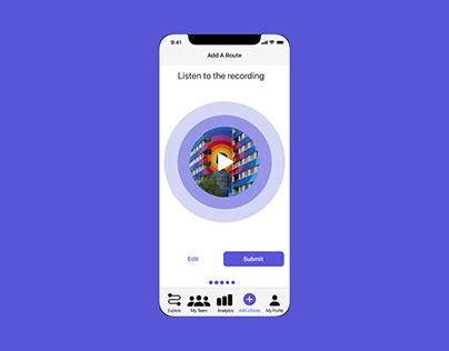 UI Animation - Podcast App
